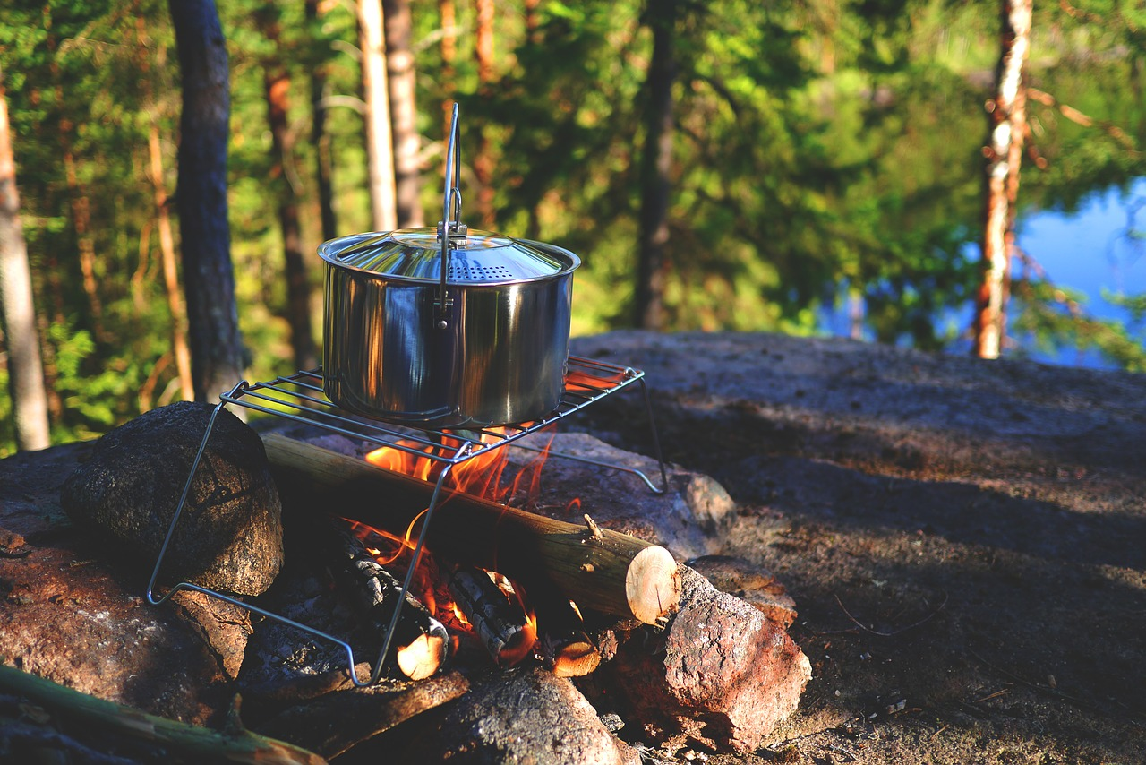 Lagerfeuer Outdoor